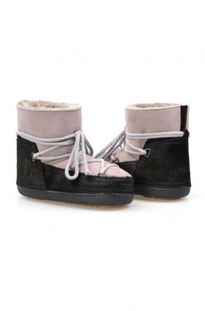 Cool Moon Genuine Sheepskin Women's Snow Boots 251114 Powdery