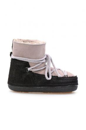 Cool Moon Genuine Sheepskin Women's Snow Boots 251114 Powdery