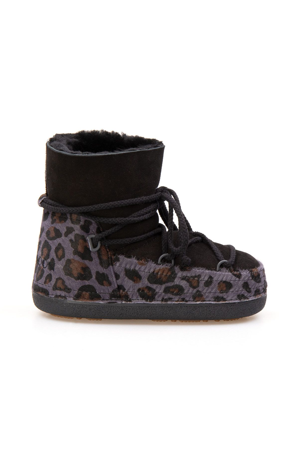 Cool Moon Genuine Sheepskin Women Snow Boots 251115 Black