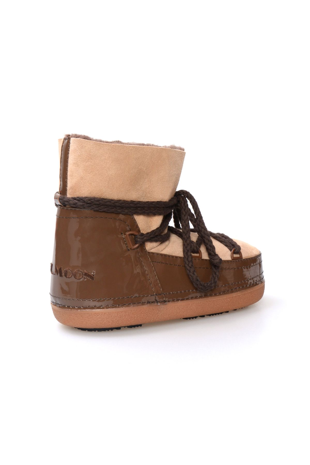 Cool Moon Women's Shearling Snow Boots 259002 Brown