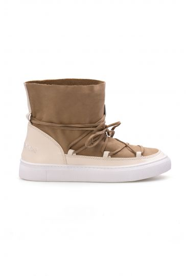 Cool Moon Genuine Suede Women Sneaker CM1029 Beige