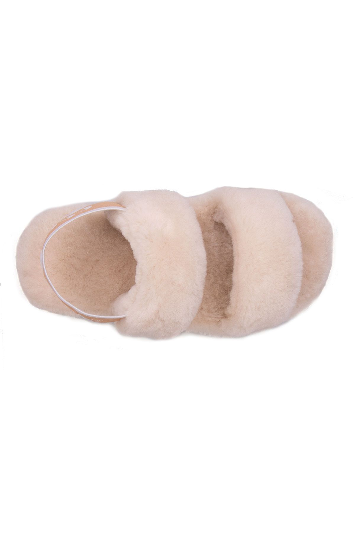 Cool Moon Genuine Sheepskin Women's Slippers 213001 Beige