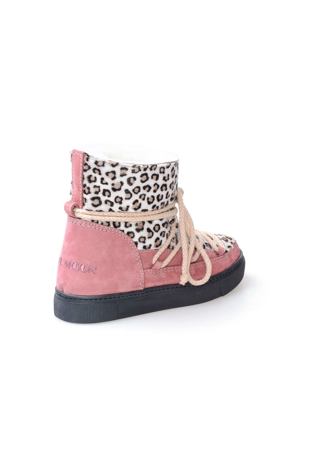 Cool Moon Genuine Sheepskin Women Sneaker 355028 Pink