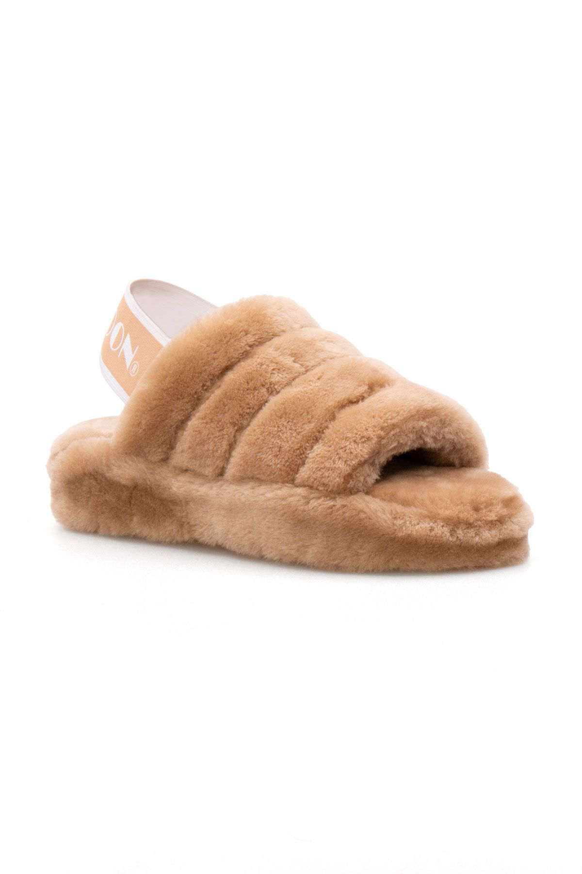Cool Moon Genuine Sheepskin Women's Slippers 212501 Ginger