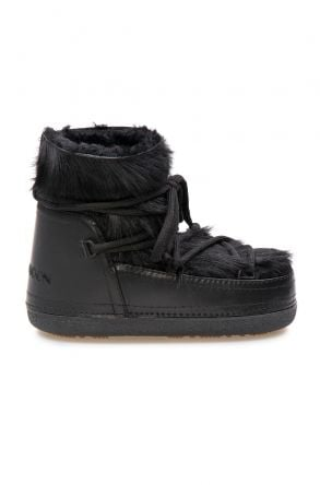 Cool Moon Genuine Sheepskin Women's Snow Boots 251316 Black
