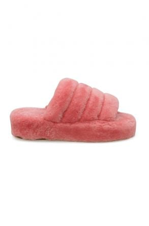 Cool Moon Genuine Sheepskin Slippers 212510 Pink