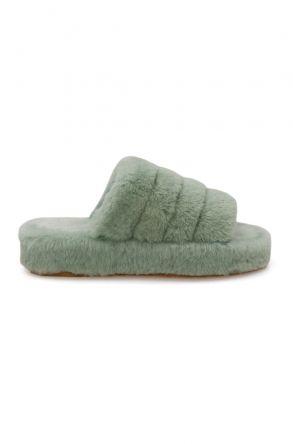 Cool Moon Genuine Sheepskin Slippers 212510 Mint