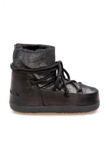 Cool Moon Genuine Sheepskin Women's Snow Boots 251308 Black