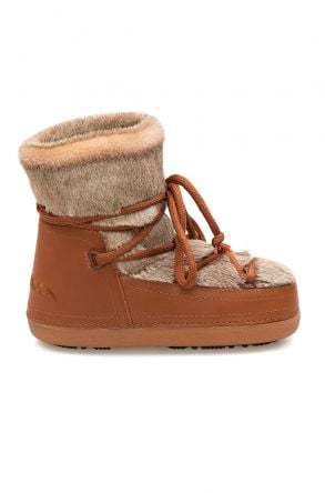 Cool Moon Shearling Women's Snow Boots 251318 Ginger