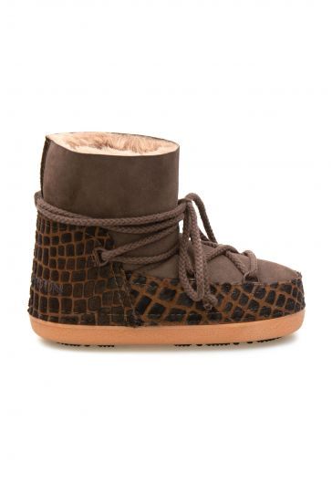 Cool Moon Shearling Women's Snow Boots 251327 Brown