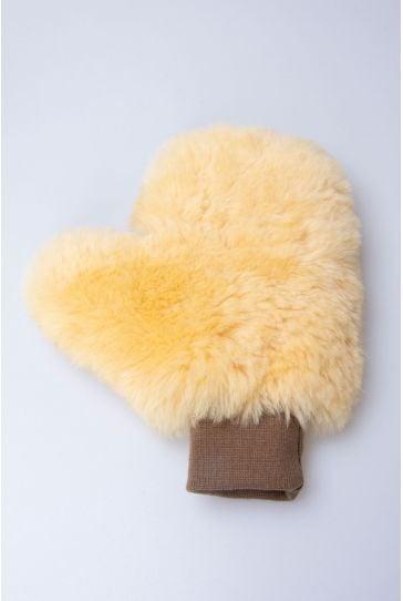 Erdoğan Deri Genuine Sheepskin Polishing Gloves 19AU01 Natural