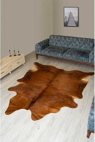 Pegia Genuine Cowhide Leather Carpet FST010 Natural