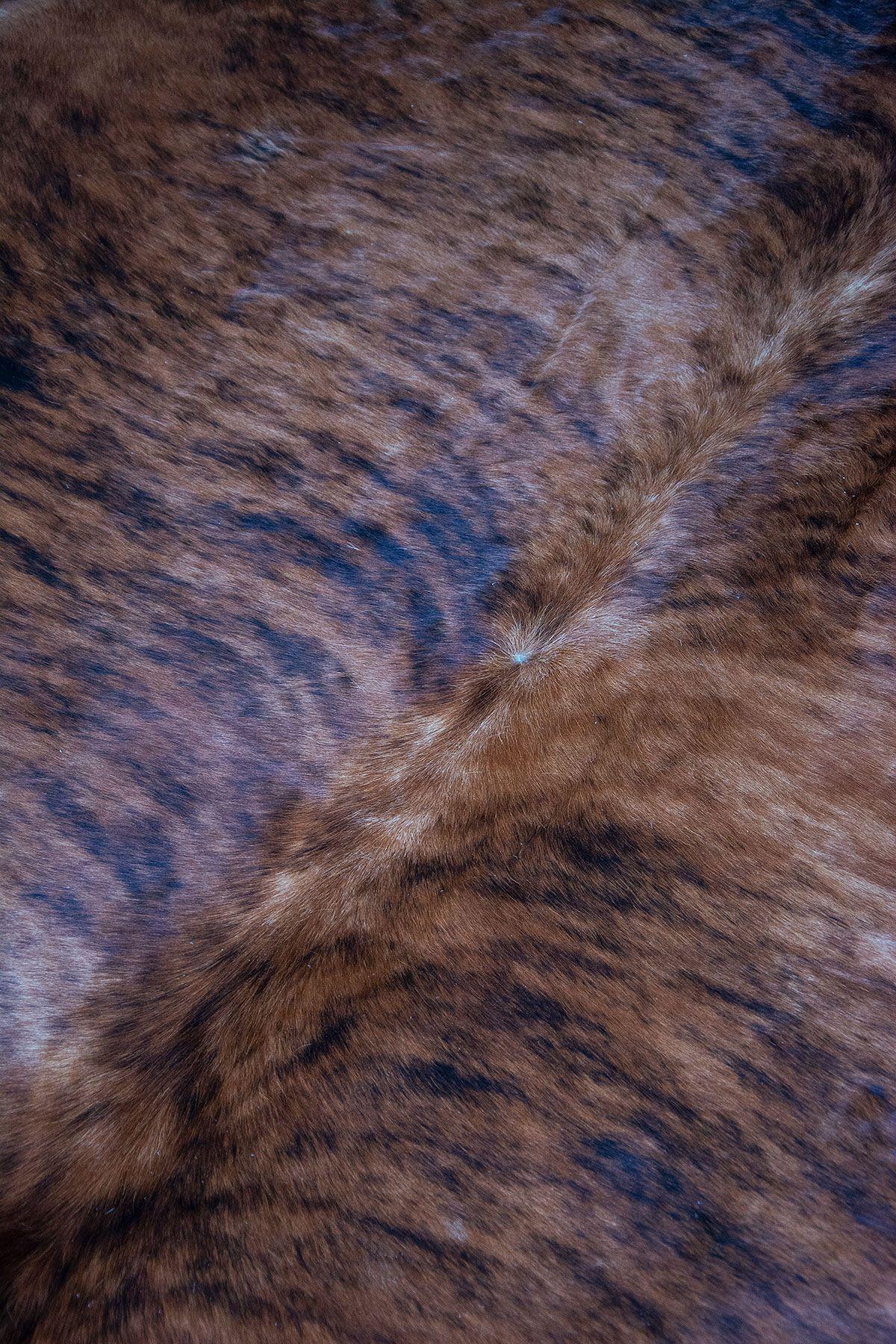 Pegia Genuine Cowhide Leather Carpet FST014 Natural