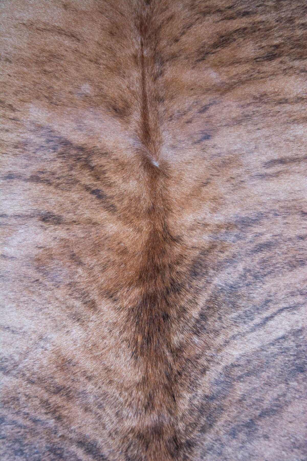 Pegia Genuine Cowhide Leather Carpet FST023 Natural