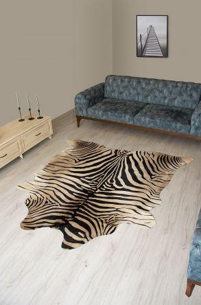 Pegia Genuine Cowhide Leather Carpet FST037 Natural
