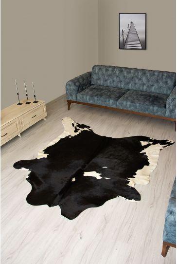 Pegia Genuine Cowhide Leather Carpet FST041 Natural
