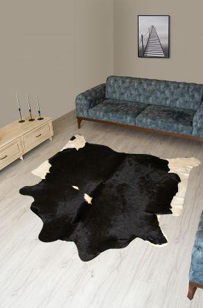 Pegia Genuine Cowhide Leather Carpet FST051 Natural