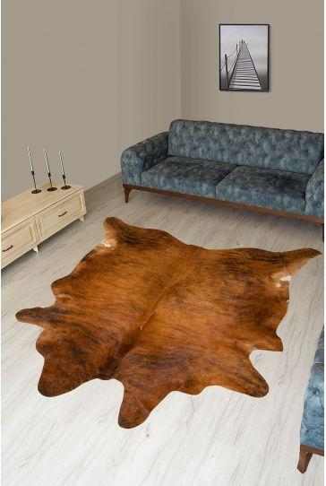 Pegia Genuine Cowhide Leather Carpet FST062 Natural