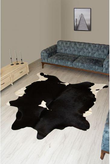 Pegia Genuine Cowhide Leather Carpet FST072 Natural