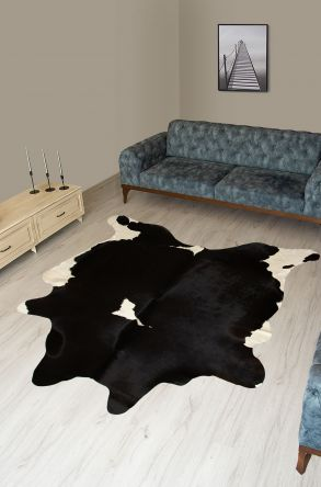 Pegia Genuine Cowhide Leather Carpet FST072 Natural