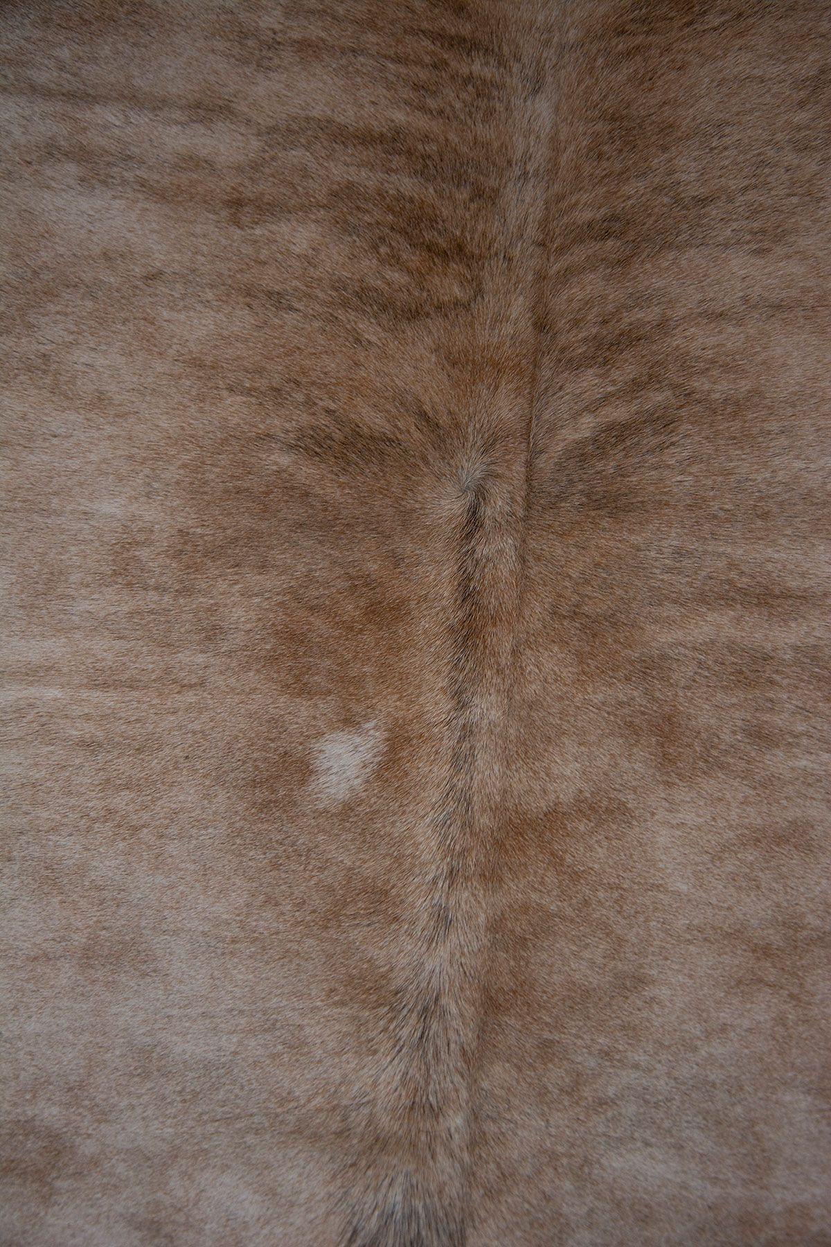 Pegia Genuine Cowhide Leather Carpet FST085 Natural