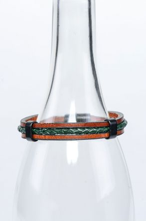 Pegia Genuine Leather Bracelet 19BL06 Green