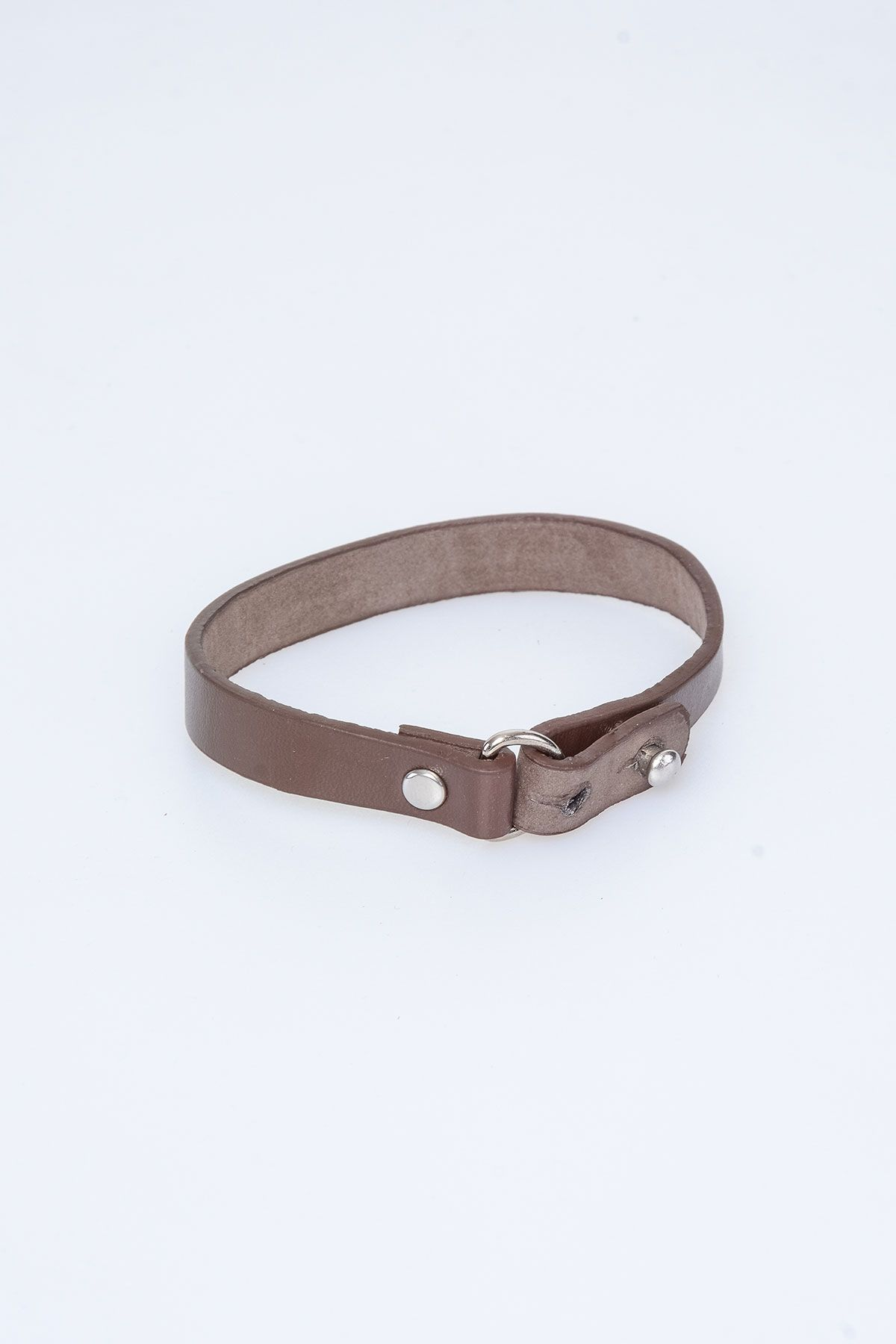 Pegia Genuine Leather Bracelet 19BL24 Brown