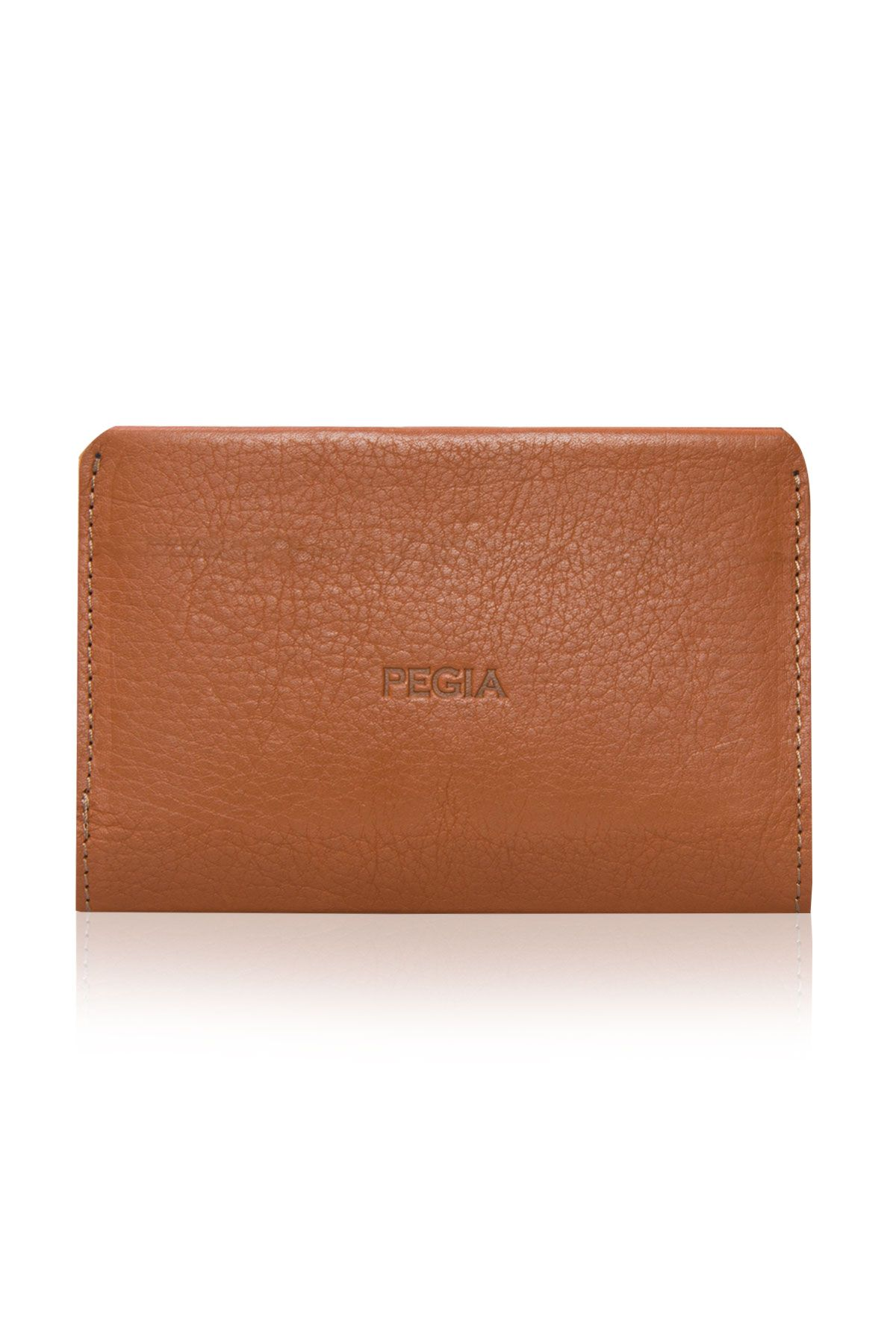 Pegia Genuine Leather Big Size Wallet 19CZ300 Ginger