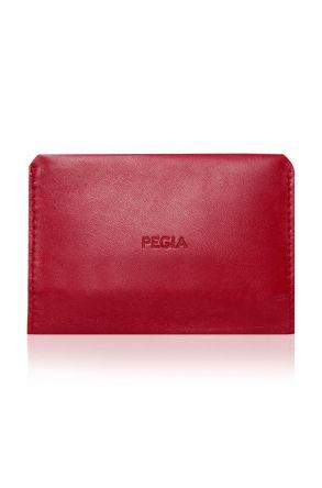 Pegia Hakiki Deri Büyük Boy Cüzdan 19CZ301 Kırmızı