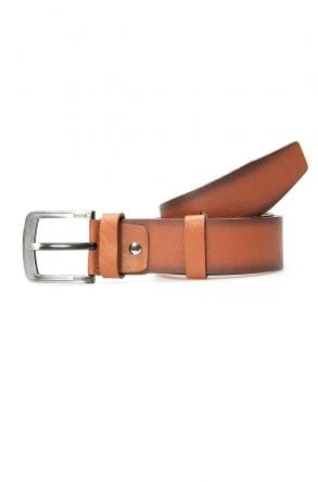 Pegia Original Leather Men's Belt 19KMR03 Brown