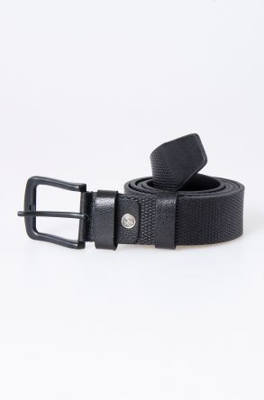 Pegia Original Leather Men's Belt 19KMR04 Black
