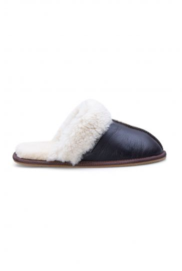 Pegia Genuine Sheepskin Women's House Slippers 191103 Brown