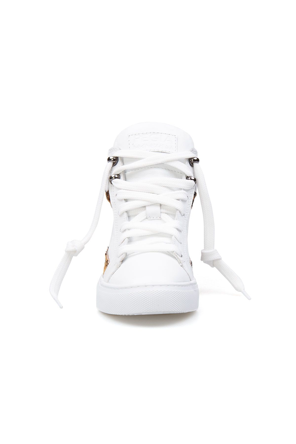 Pegia Genuine Leather Women's Sneaker LA1203 White