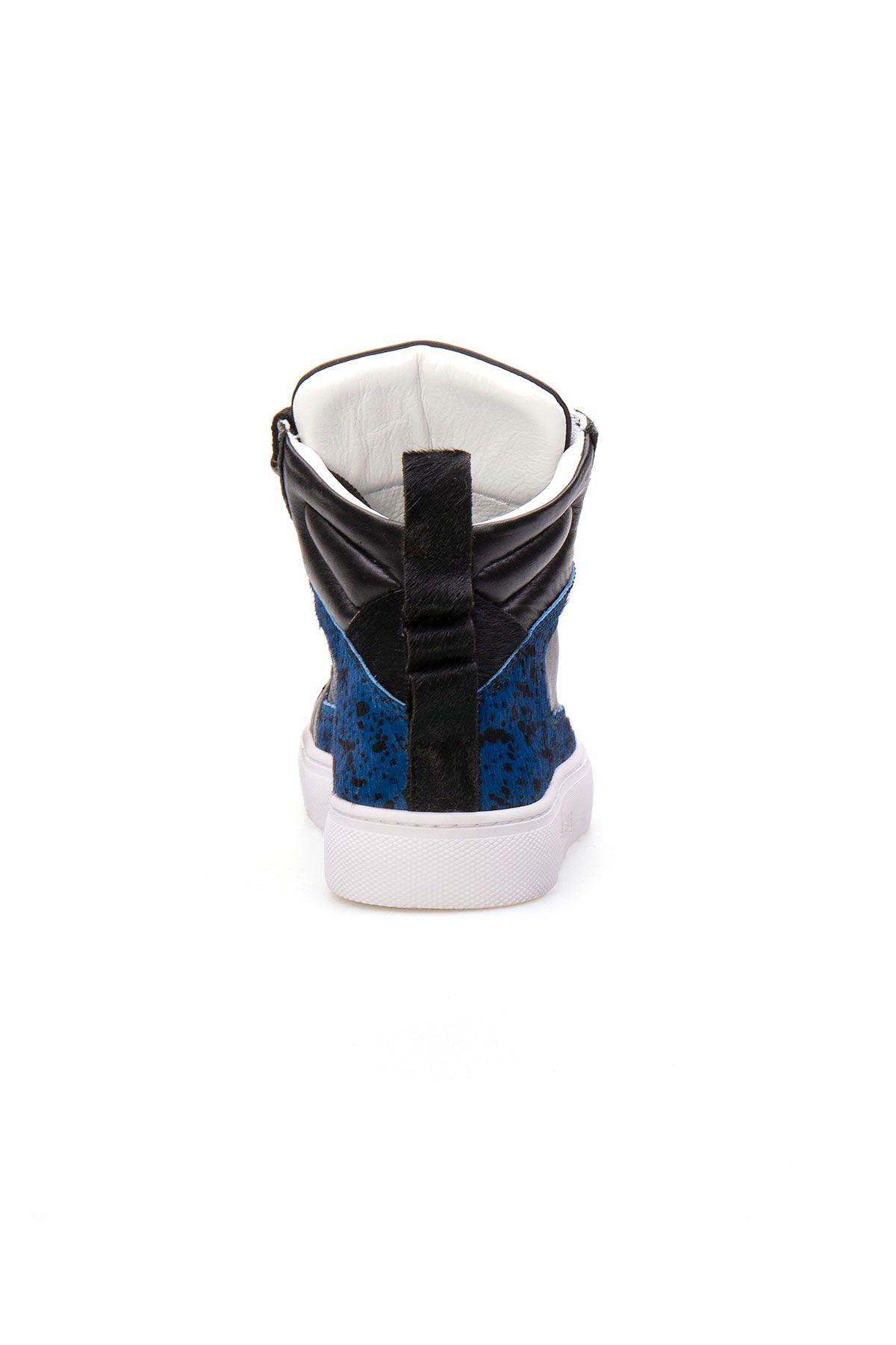 Pegia Genuine Leather Women's Sneaker LA1205 Blue