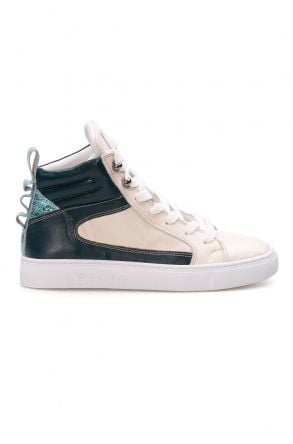 Pegia Genuine Leather Women's Sneaker LA1214 White