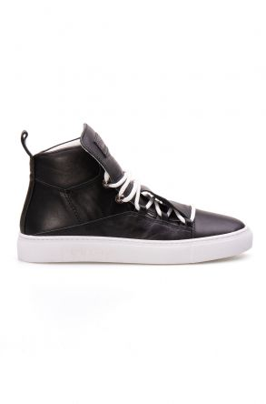 Pegia Genuine Leather Women's Sneaker LA1301 Black