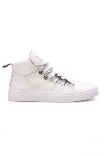 Pegia Genuine Leather Women's Sneaker LA1302 White