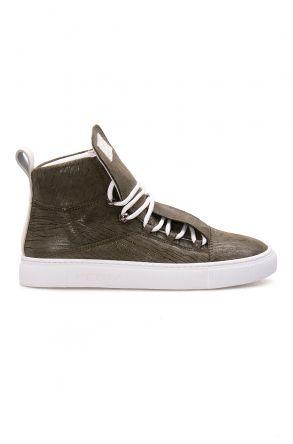 Pegia Genuine Leather Women's Sneaker LA1313 Khaki