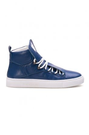 Pegia Genuine Leather Women's Sneaker LA1314 Blue