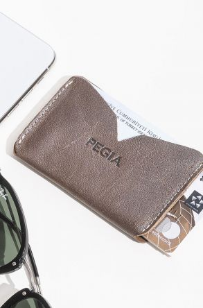 Pegia Genuine Leather Cardholder 19CZ102 Copper