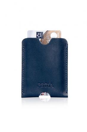 Pegia Genuine Leather Cardholder 19CZ200 Blue
