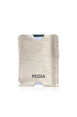 Pegia Hakiki Deri Kartlık Cüzdan 19CZ217 Altın