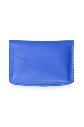 Pegia Hakiki Deri Pasaport Cüzdanı 19CZ400 Mavi
