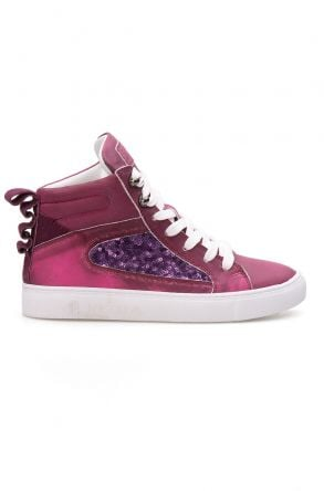 Pegia Genuine Leather Women's Sneaker LA1210 Purple