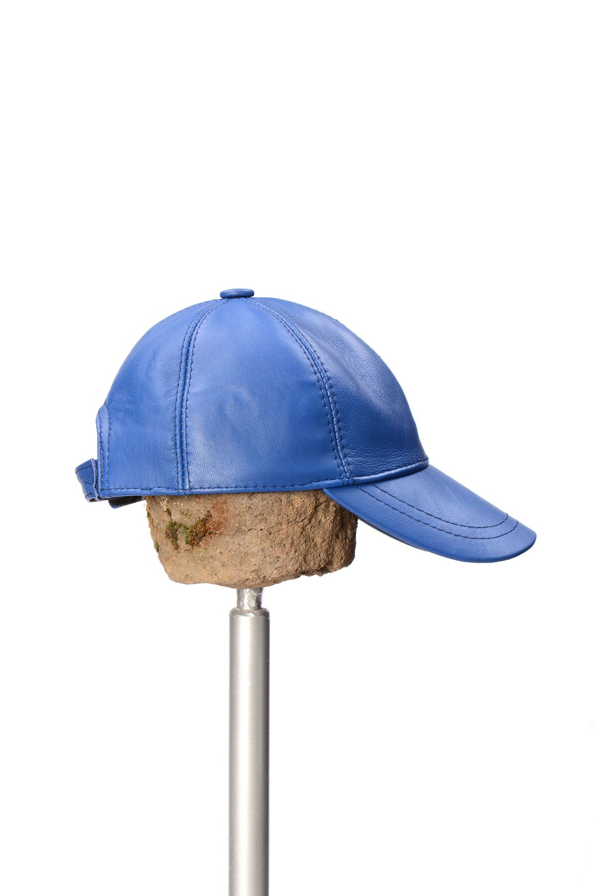 Pegia Genuine Leather Hat 19SB12 Blue