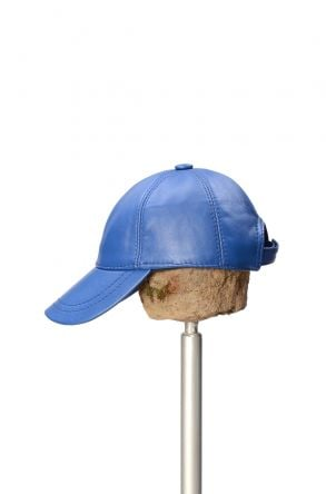 Pegia Genuine Leather Hat 19SB12 Blue