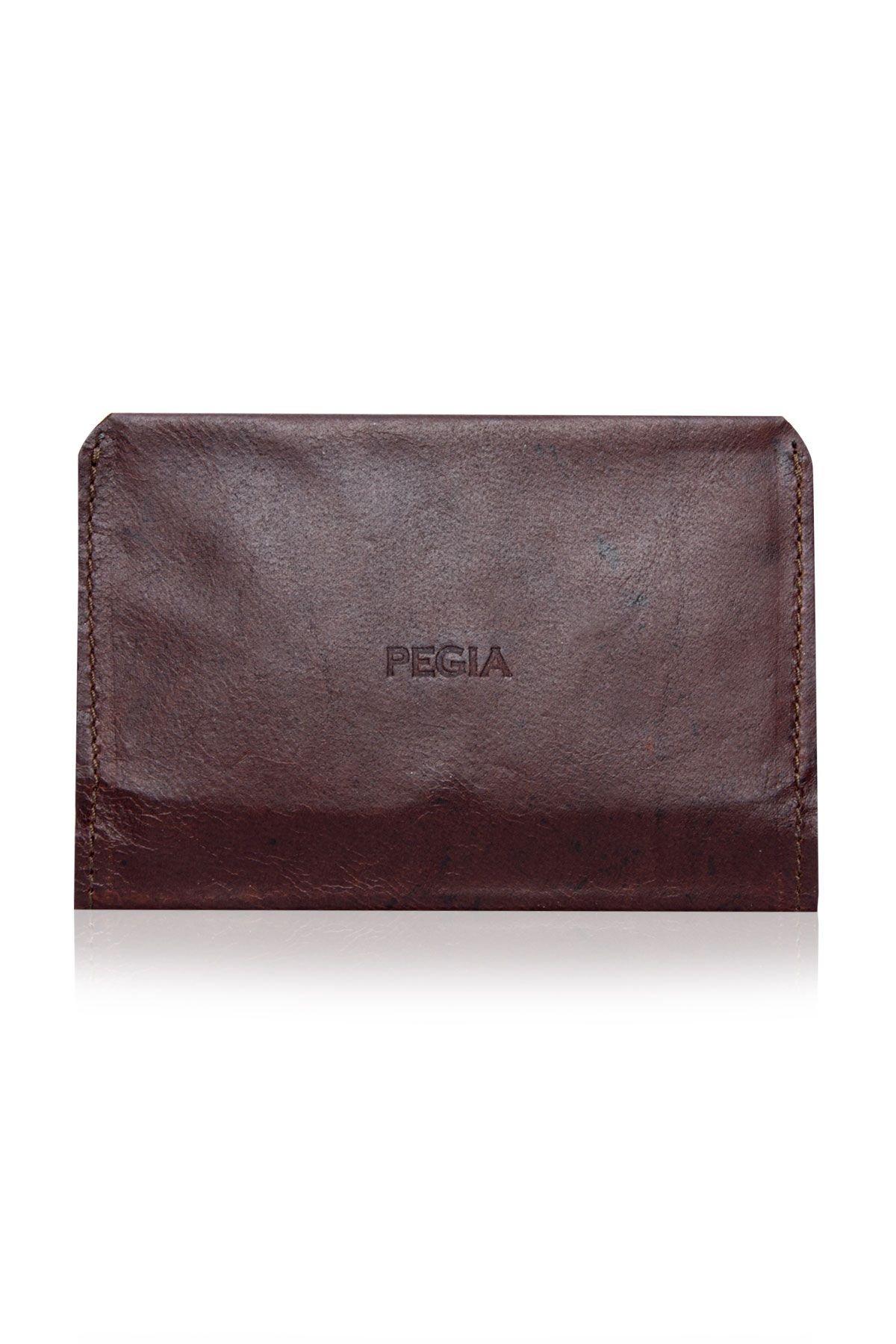 Pegia Genuine Leather Vintage Wallet  19CZ304 Brown