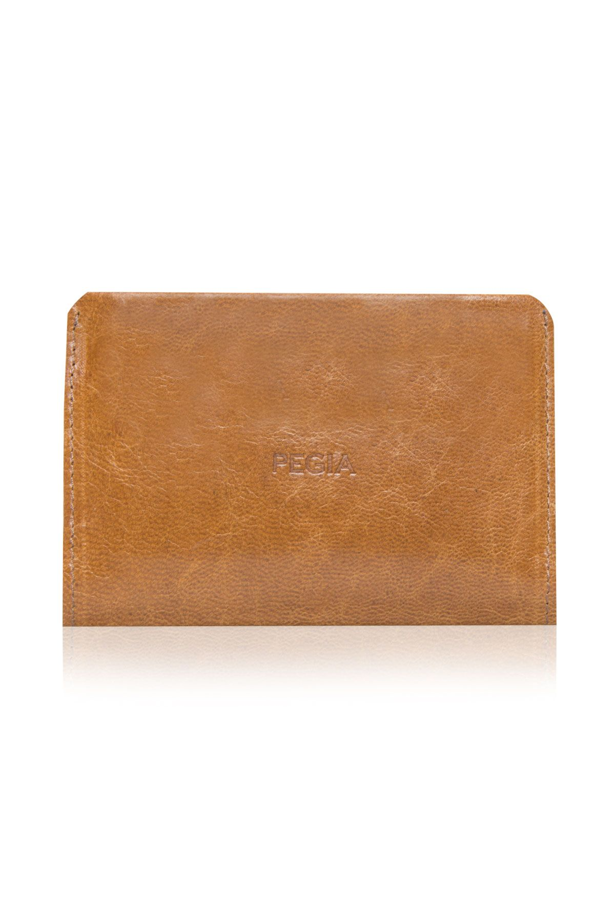 Pegia Genuine Leather Vintage Wallet  19CZ304 Ginger