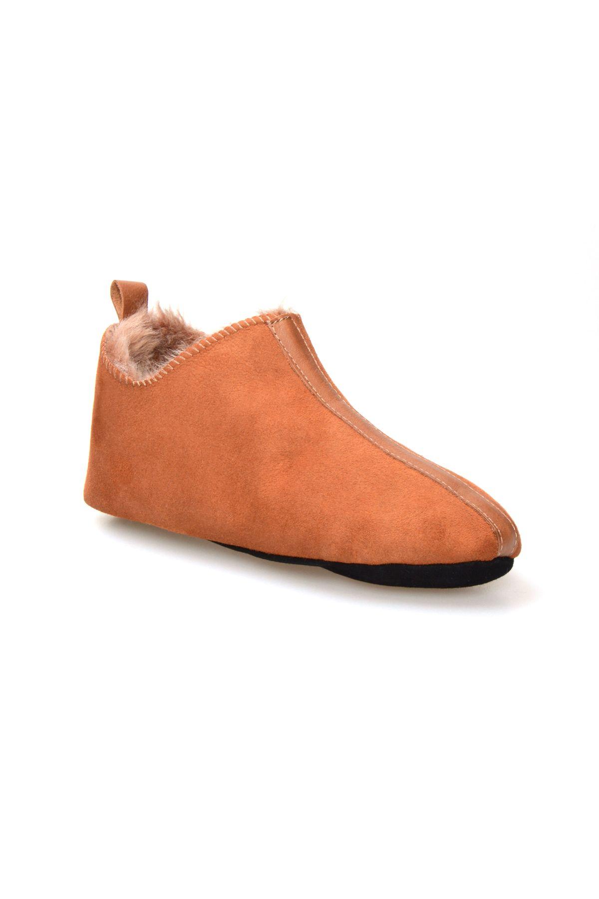 Pegia Genuine Women Sheepskin Slippers 980478 Ginger