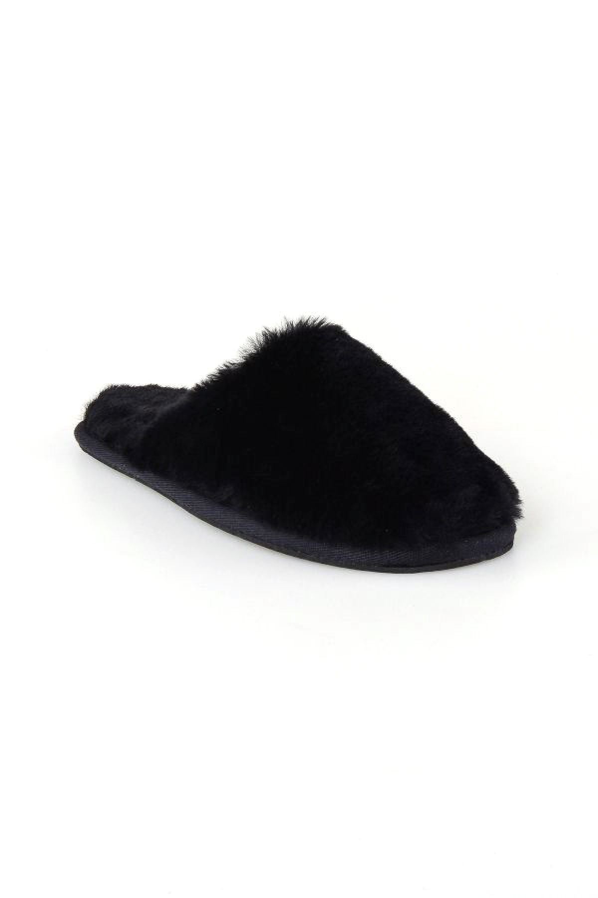 Pegia Women Shearling Slippers 191092 Black